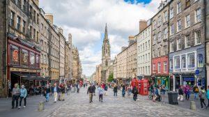 Royal Mile,Edinburgh Self-Guided Walking Tour